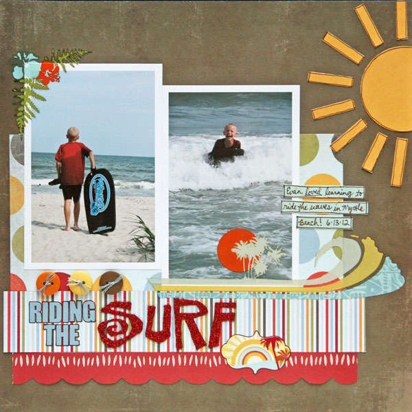 Riding the Surf