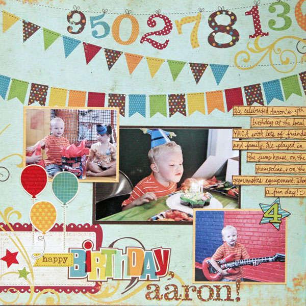 Happy Birthday, Aaron!