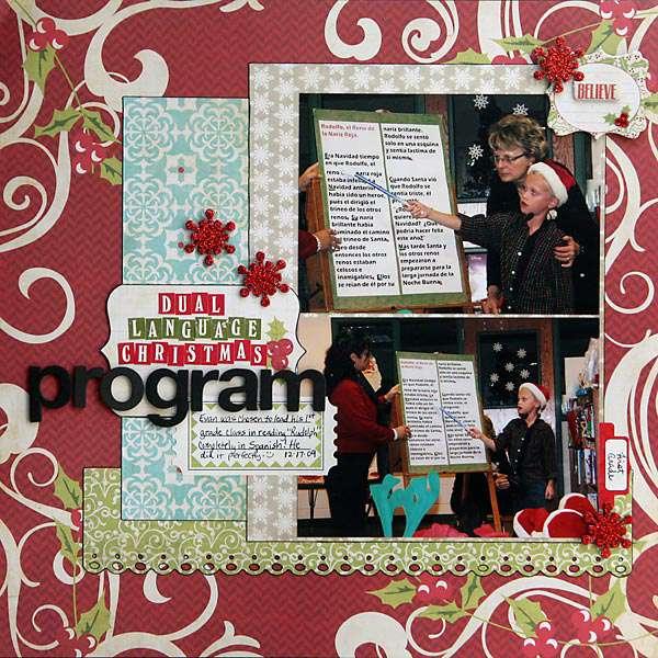 Dual Language Christmas Program