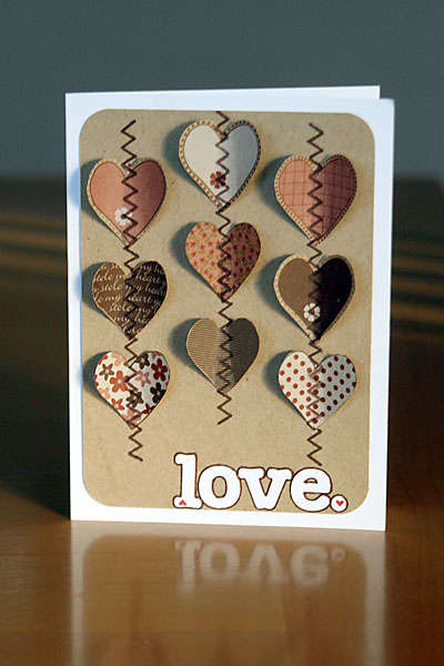 """""""Love."""" card"""