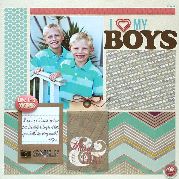 I (heart) My Boys