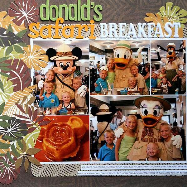 Donald's Safari Breakfast