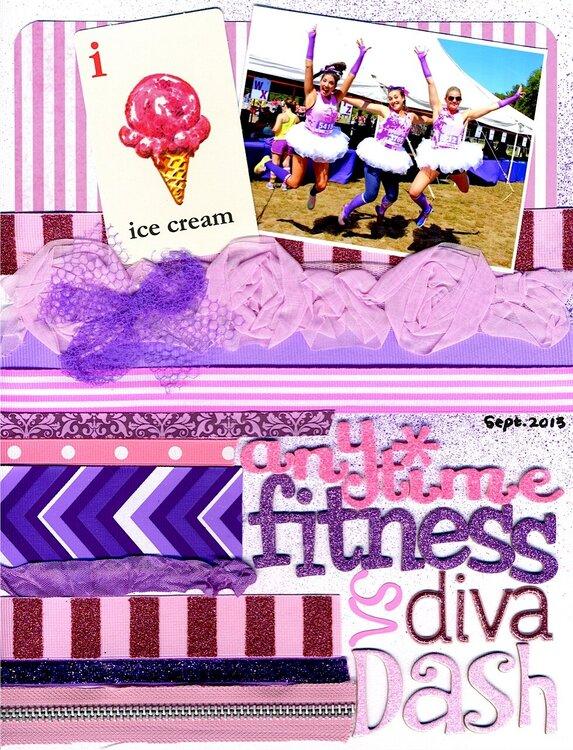 Anytime Fitness vs. Diva Dash