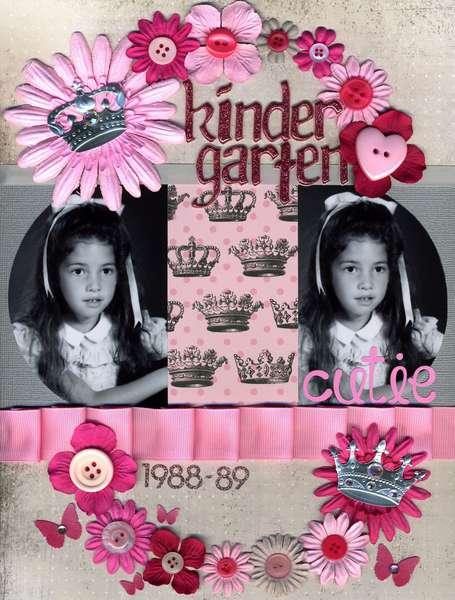 Kindergarten Cutie *TCR #13*