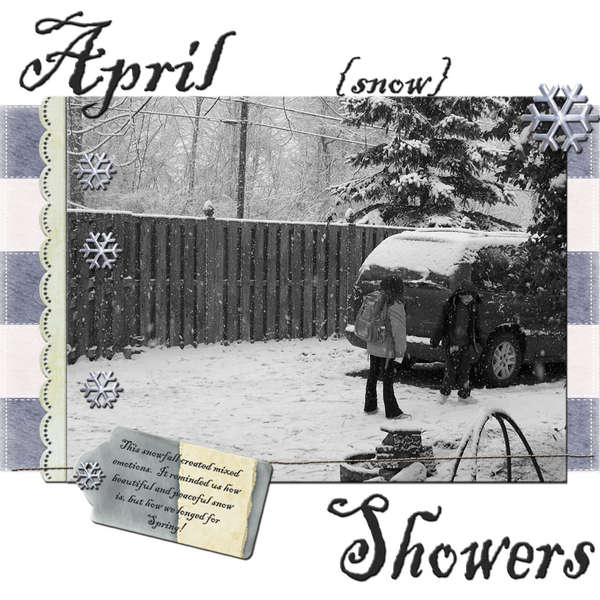 April snow Showers