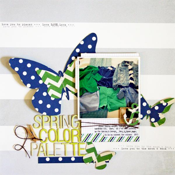 Spring Color Palette *cocoa daisy*