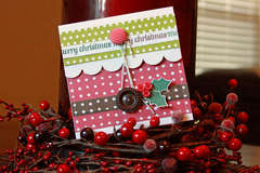 pebbles welcome christmas gift card holder