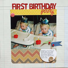 first birthday party *pebbles inc*