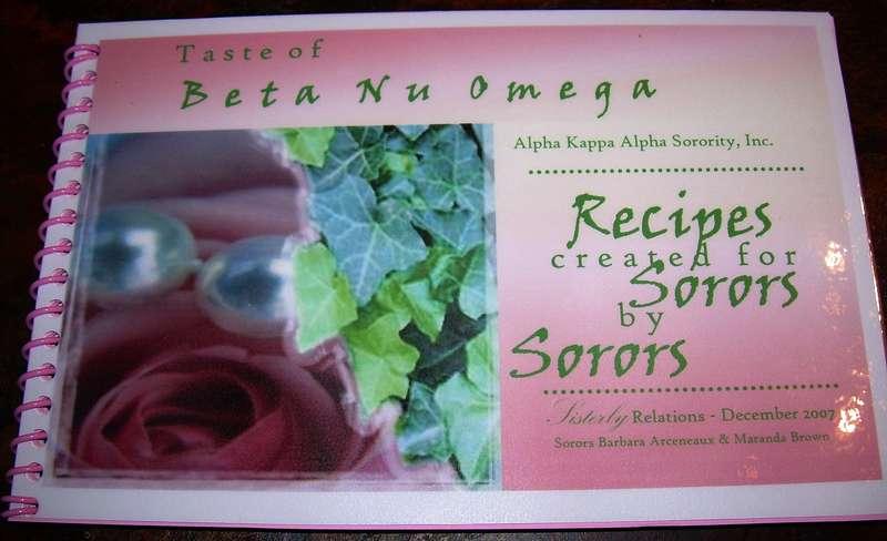 Taste of BNO Cookbook