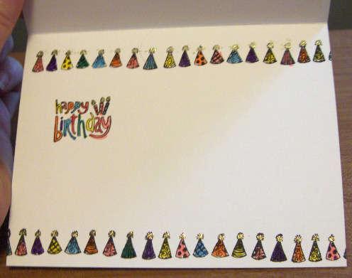Niece's Birthday Card 08 - inside