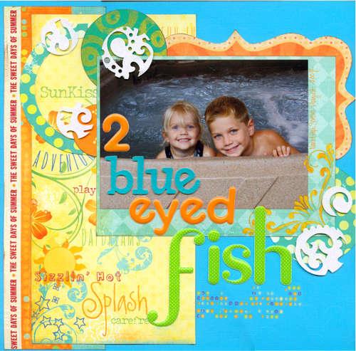 2 blue eyed fish