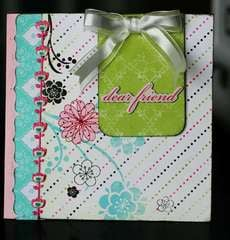dear friend card