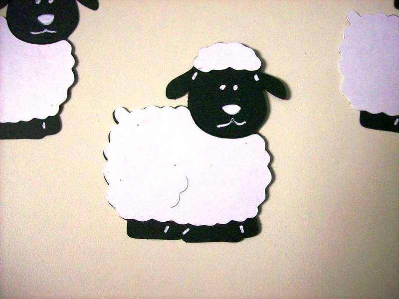 Close up of lambs