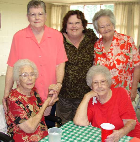 Me and mom and my 3 aunts