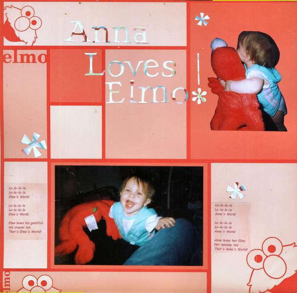 Anna Loves Elmo!