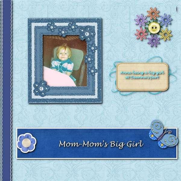 Mom-Mom's Big Girl