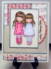 Happy Birthday Sister (Gorjuss)