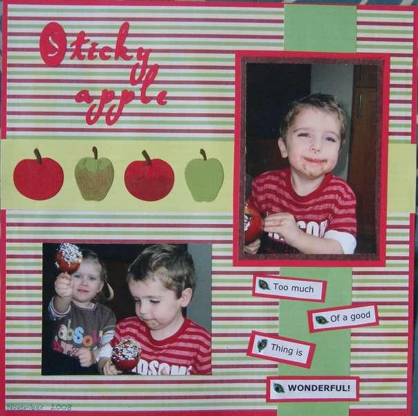 Sticky apple