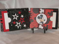 Disney Memories Chipboard album