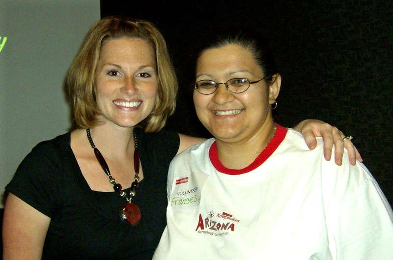 Me & Becky Higgins