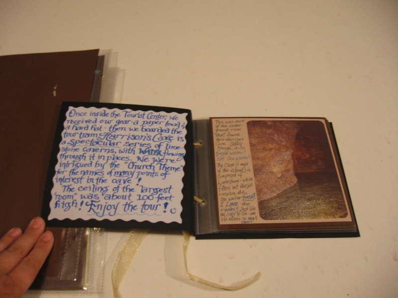 HC Mini-Album-Inside
