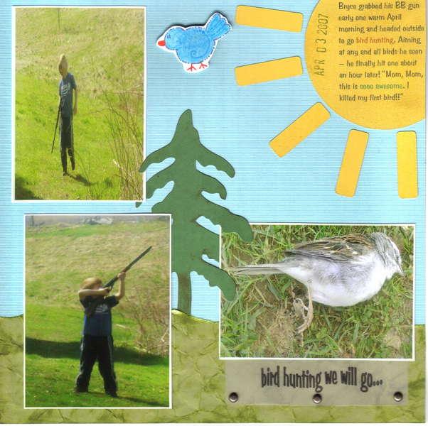 Bird Hunting We Will Go