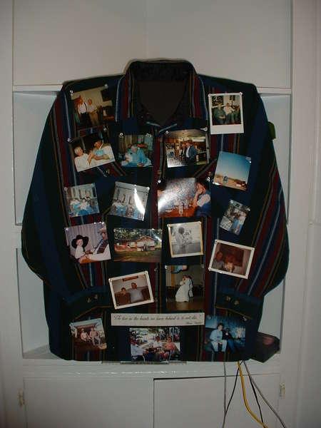 Memorial Board ~ His Children, Grandchildren and Friends