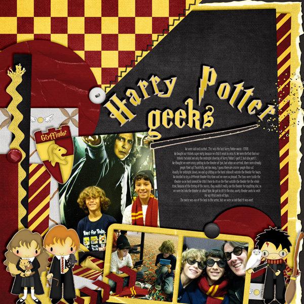Harry Potter geeks