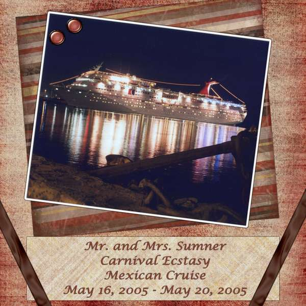 Page 1 - Our Ship: Carnival Ecstasy