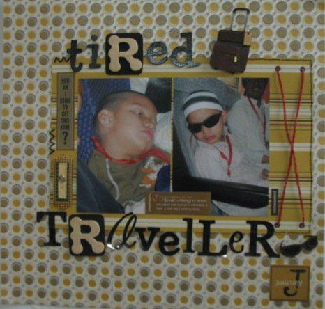 Tired Traveller