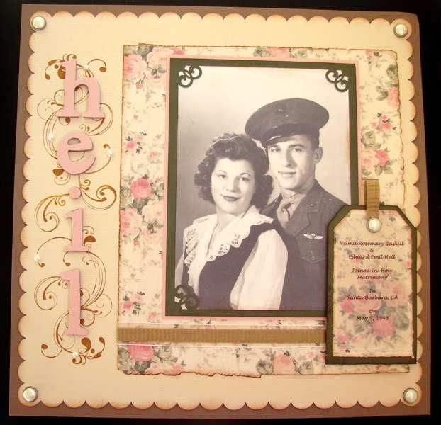 Mr. & Mrs. Ed Heil 1943