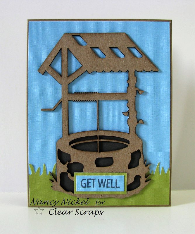 Get Well Card for Clear Scraps