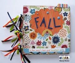 Fall Mini Album for Clear Scraps