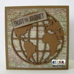 Enjoy the Journey Card for Clear Scraps