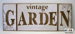 Vintage Garden Sign