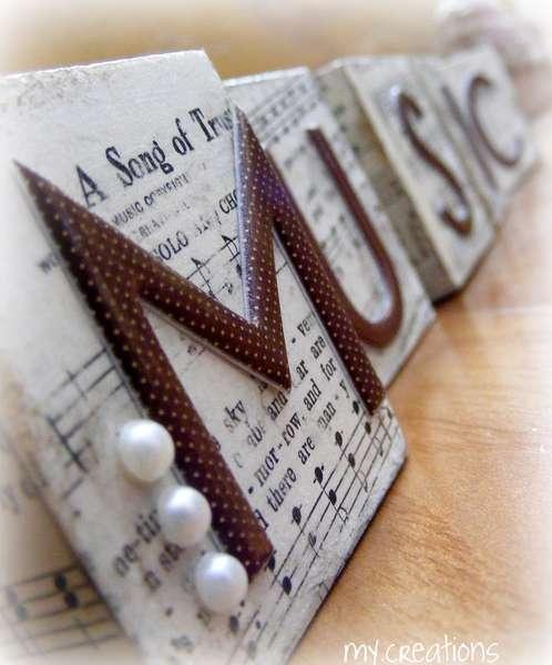 Music Wooden Blocks