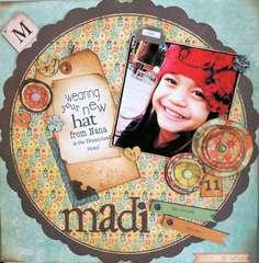 Madi in her Hat