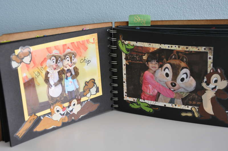 Disney Mini Scrapbook