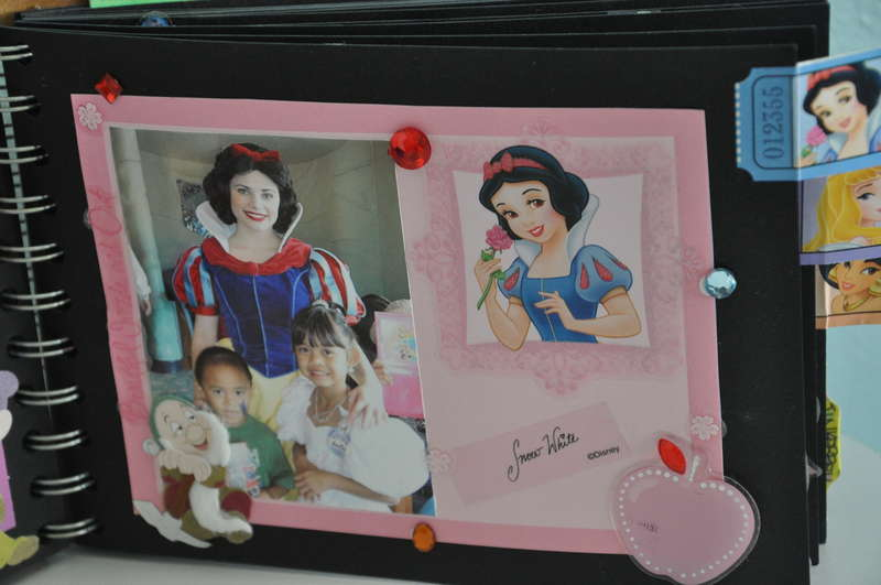 Disney Mini Scrapbook