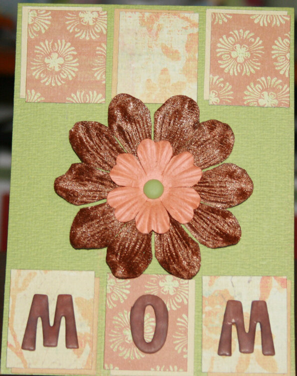 Mother's Day card for my MIL
