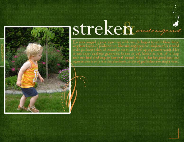Streken & ondeugend (playing tricks & boyish)
