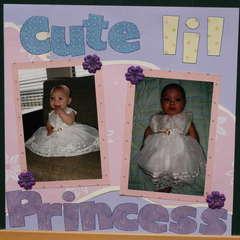 Cute lil princess