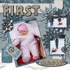 Kira's First Snow