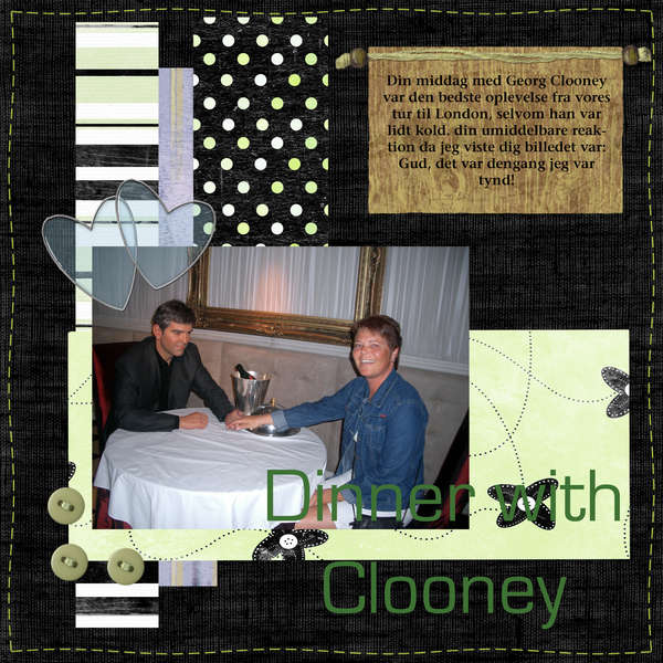 Dinner with Clooney