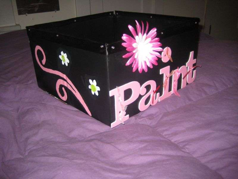 Altered Paint Box- Left
