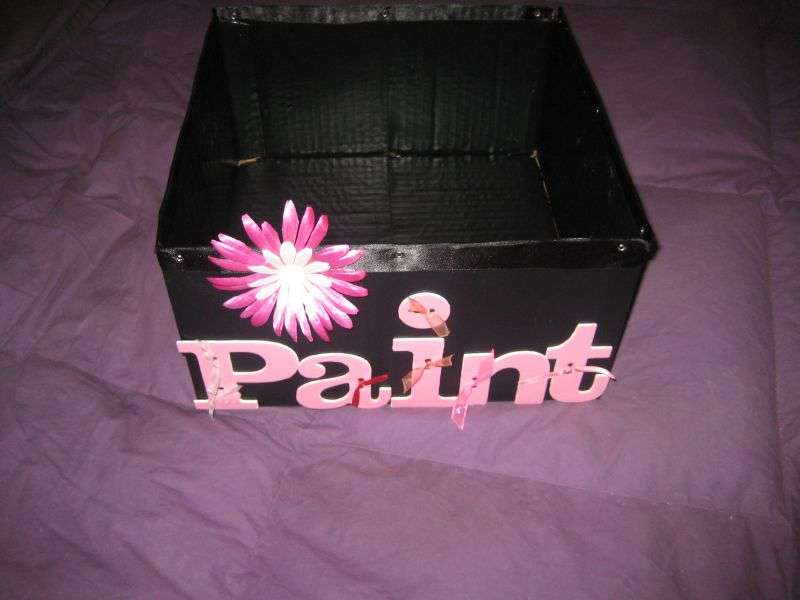 Altered Paint Box- Front