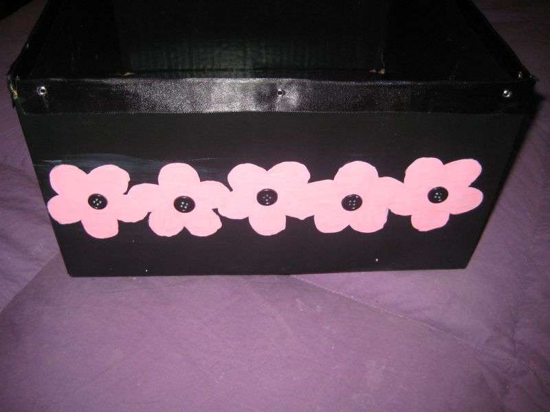 Altered Paint Box- Back