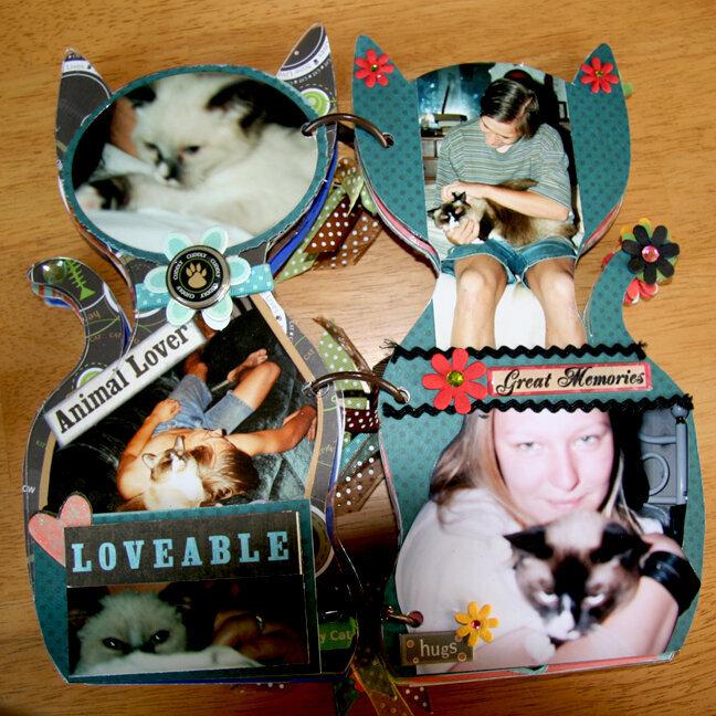 Acrylic Cat Album - pg 9, 10
