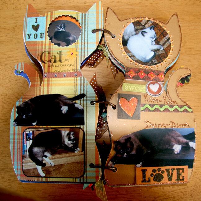 Acrylic Cat Album - pg 5, 6