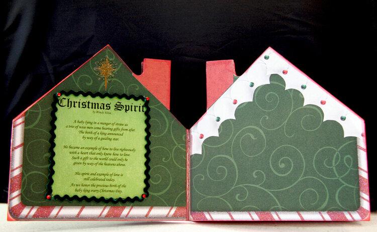 Christmas House Album - Pgs 3 & 4
